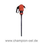 Handpumpe Frostschutz für 200L Fass (aus PP) Stück