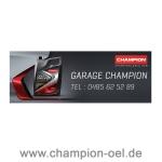 CHAMPION® Außenschild personalisiert 73x200cm Stück