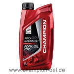 CHAMPION® Pro Racing GP Fork Oil 20W 1 Ltr. Dose