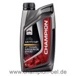 CHAMPION® Moto HP 2T Transm. Oil 10W-30 1 Ltr. Dose